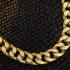 Bracelet torsade diamond cut en or 10k