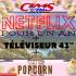 Téléviseur 43 + Netflix pour un an