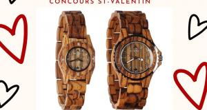 Un duo de montre en bois Konifer