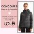 Un manteau compressible Emeline noir de Lolë