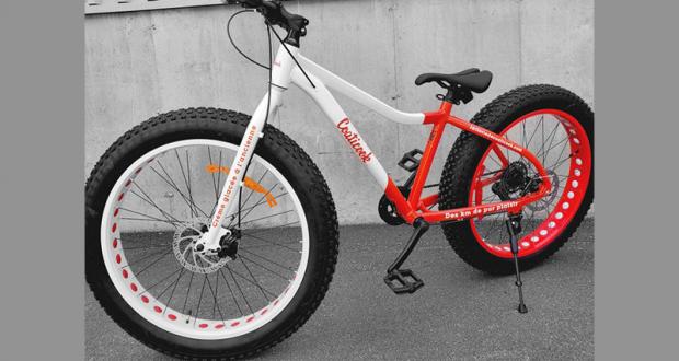 Un vélo à roue surdimensionnées fatbike (Valeur de 1 000 $)