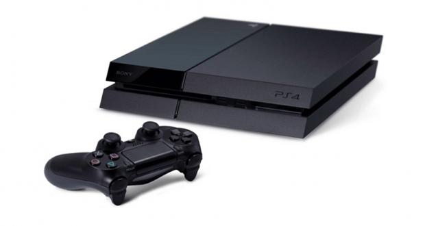 Une Playstation 4 avec manette