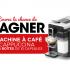 Cafetière Caffitaly Cappucina blanche et 15 boîtes de 10 capsules de café