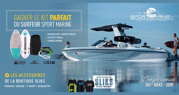 Gagnez le Kit Parfait du Surfeur Sport Marine