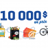 Gagnez plus de 10 000$ en prix