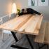 Table de cuisine faite sur mesure
