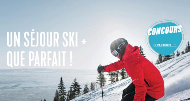 Un séjour de ski pour 4 personnes dans Charlevoix