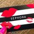 Une carte cadeau Sephora de 200$