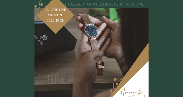 Une jolie montre PAUL RICH