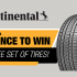 Ensemble de pneus Continental ou General Brand (1800$)