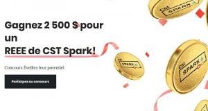 Gagnez 2500 $ pour un REEE (Prix mensuel)