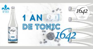 Gagnez un an d'eau de tonique 1642 (Valeur de 720$)