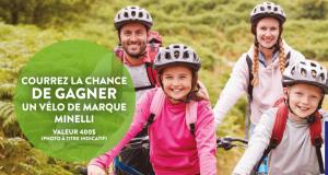 Gagnez un vélo Minelli d'une valeur de 875$