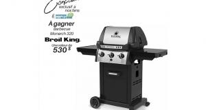 Un BBQ Broil King Monarch 320 d'une valeur de 530 $
