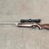 Une carabine à plomb Beeman modèle 1048 combo
