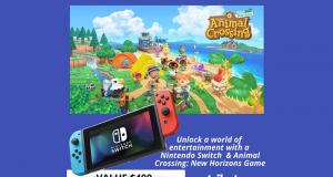 Une console de jeux vidéo Nintendo Switch