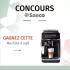 Une machine à café Saeco