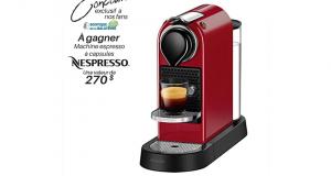 Une machine espresso à capsules Nespresso