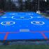 Une surface de dek hockey grandeur 10'X 10'