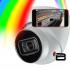 4 caméras avec visionnement à distance sans frais