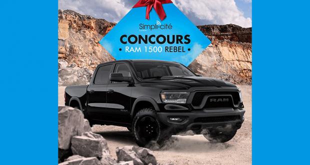 Gagnez la Location 6 mois d'un véhicule RAM 1500 Rebel 2020