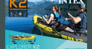 Kayak Intex Explorer pour 2 Personnes