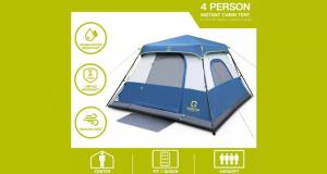Tente camping pour 4 personnes