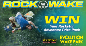 Un pack Rockstar planche Wake Surf (Valeur de 1460$)