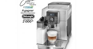 Une machine espresso De'Longhi (valeur de 2000$)