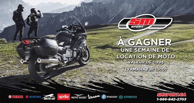 Une semaine de location de moto Yamaha FJR 1300
