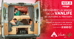 Une semaine de vacances à bord d'un camper-van