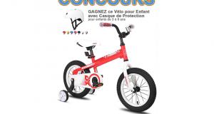 Gagnez Un vélo pour enfant incluant casque de protection