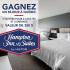 Séjour de 2 nuits en famille au Hampton Inn & Suites à Beauport