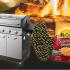 Un barbecue au propane de luxe à 4 brûleurs de Dyna-Glo