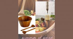 Un ensemble pour mélange Salade