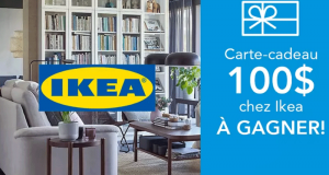 Une Carte cadeau IKEA de 100$
