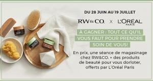 5 000 $ en prix RW&CO et L'Oréal Paris