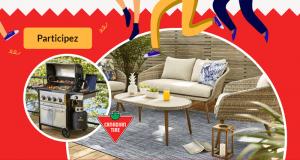 Gagnez 2 ensembles de patio d'une valeur de 3000$ chacun