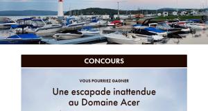 Séjour gastronomique au Domaine Acer