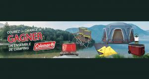Un ensemble de camping Coleman de 1 000$