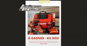 Un kit hilti d'une valeur de 800$