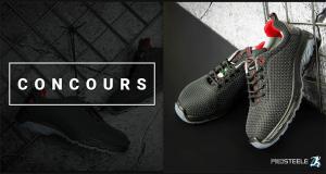 Une paire de chaussures de sécurité