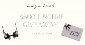 500 $ de lingerie romantique