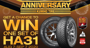 Ensemble de pneus KUMHO TIRE