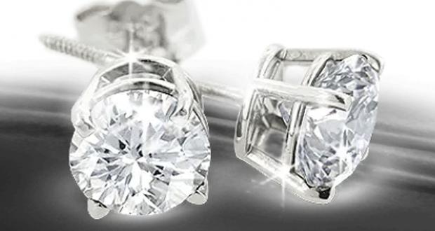 Gagnez des Boucles d'oreilles en diamants (Valeur de 5000$)