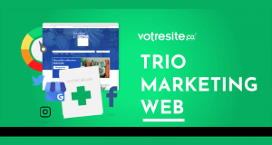 Trio marketing d'une valeur de 3295$
