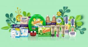 Un ensemble de produits Procter & Gamble