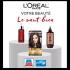 Un forfait beauté L'Oréal Paris de 1500 $