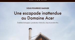 Un séjour gastronomique pour 2 personnes au Domaine Acer