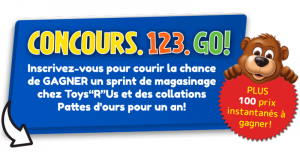 "Un sprint de magasinage Toys""R""Us de 30 secondes (2000$)"